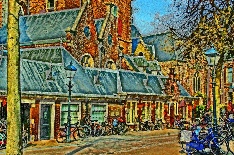 Weiss_Fritz (Steven)_Amsterdam Cityscape